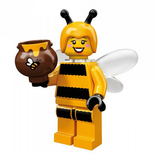 Lego Minifigures Series 10   Bumblebee Girl  Biene Hummel NEU Tütchen ungeöffnet