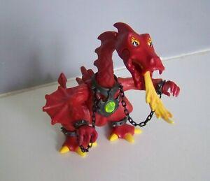 MOYEN-AGE L5205 Le Dragon Rouge 3327 Complet PLAYMOBIL