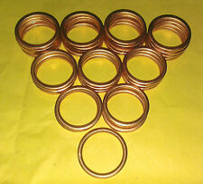 EXHAUST MANIFOLD GASKET RINGS TL125 VT125 XL125 XLR125 XR125 CBF150 CD175 185 C0