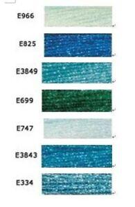 7-madejas-BRAND-NEW-MOULINE-EFECTOS-LUMINOSOS-317W-BLUE-amp-GREEN-THREAD