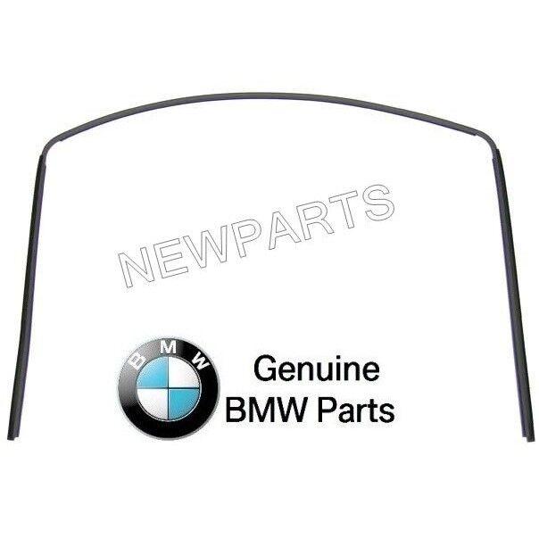 BMW E36 318i 325i Rear Upper Windshield Moulding Trim Seal GENUINE 51311977277