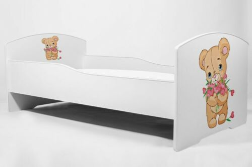 "Childrens enfant lit avec matelas /""LUK/"" 160x80"