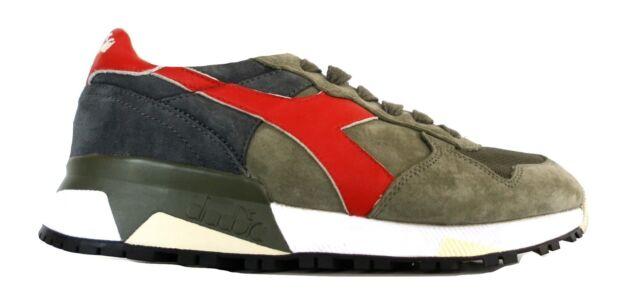 DIADORA scarpe sneaker uomo 201.161885 70432 trident 90 S verde rosso