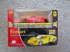 MAISTO 1/24 ENZO RED FERRARI diecast body model car kit NIB