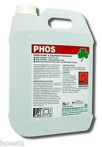 Details about Descaler & Rust Remover Professional Phosphoric Acid Formula  2 x 5ltr