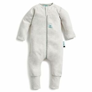 ErgoPouch Layers Long Sleeve Baby Organic Cotton TOG 1.0 Size 1 Year Grey Marle