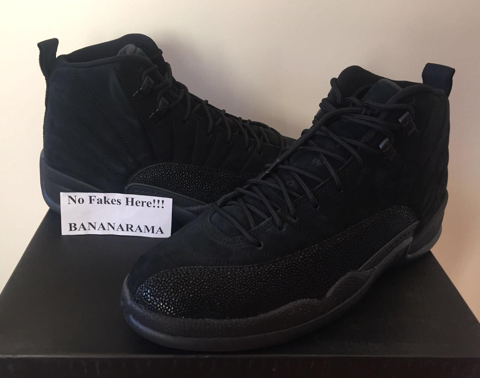 Nike Air Jordan XII 12 Retro OVO noir Drake QS US10 UK9 EU44 DS