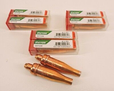 5 Acetylene Cutting Torch Tips 4-1-101 FITS VICTOR