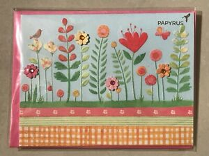Papyrus-Greeting-Card-Mother-039-s-Day-New-in-packaging-Flowers-Love-Happy-Wishes
