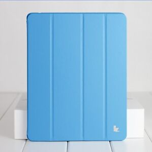 New-Jisoncase-Blue-High-Quality-Micro-Fiber-Case-Cover-For-Apple-iPad-2-and-3rd
