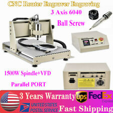 New Listing15kw 3 Axis Cnc 6040 Router Engraver Engraving Drilling Milling Carving Machine