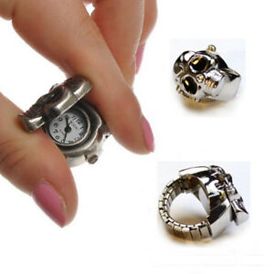 2018-Men-Fashion-Unisex-Watch-Finger-Ring-Skull-Claw-Ring-Watch-Men