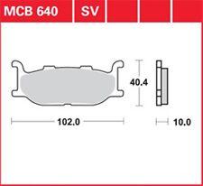 TRW Lucas pastillas de freno mcb640