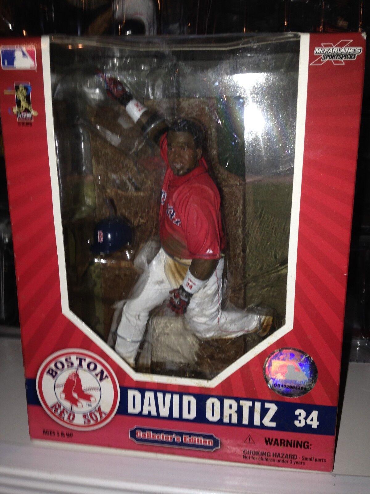 MCFARLANE MLB RED SOX LOT ORTIZ DREW PAPELBON RAMIREZ RAMIREZ RAMIREZ LOWELL ELLSBURY RED JERSEY 09f5ab