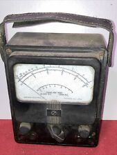 Early Simpson Electric Company Vintage Ohm And Voltmeter Tester Bakelite
