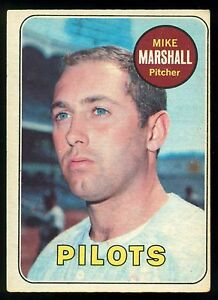 1969-TOPPS-OPC-O-PEE-CHEE-BASEBALL-17-MIKE-MARSHALL-EX-NM-SEATTLE-PILOTS-CARD