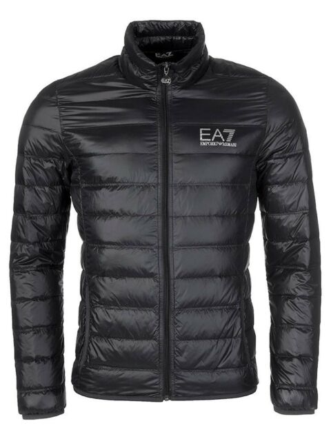 8f776dd340d Emporio ARMANI Ea7 Mens Down Jacket 8npb01 Black F/w Slim Fit S