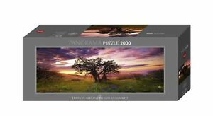 JIGSAW HY29472 - Heye Puzzles - Panorma , 2000 Pc - Oak Tree, Edition Humboldt
