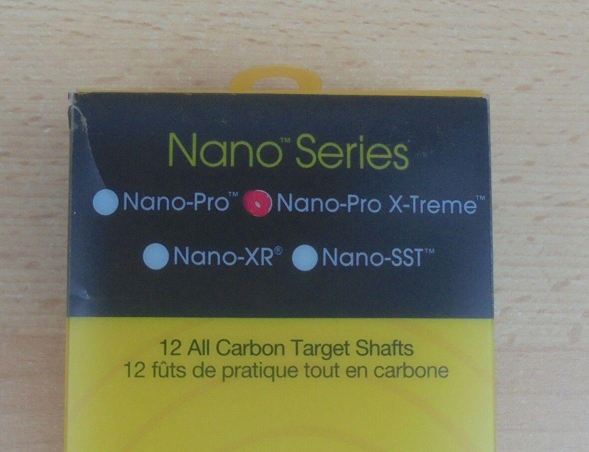 12 St. Carbon Express 51571 Nano-Pro X-Treme 500 Carbonschaft Carbonschaft Carbonschaft Pfeilschaft Schaft 2f288b