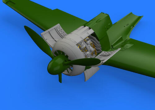 Eduard Brassin 1//48 Focke-Wulf Fw-190A-3 Engine # 648364