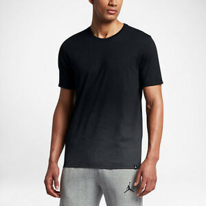 Jordan Ele Air Men's T-Shirts Black/Dark Grey