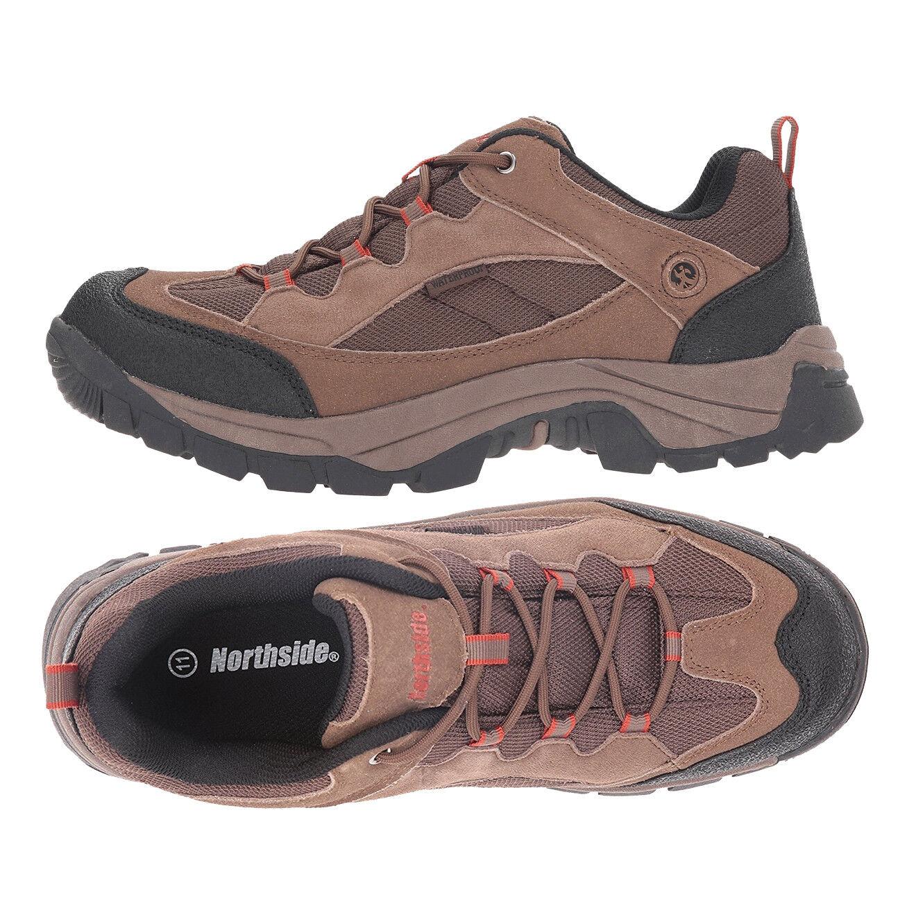 Herren Schuhes Waterproof Hiking Stiefel Braun Suede Northside Montero Stiefel NEW