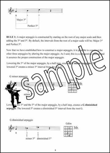 Improvising with Mini-Arpeggios Guitar TAB Music Book with Audio by Paul Musso