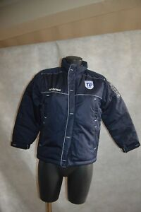 BLOUSON-PARKA-ERREA-TOULOUSE-TO-XIII-RUGBY-8-10-ANS-122-132-CM-GIACCA-JACKE-NEUF