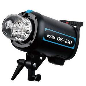 Godox-Studio-Flash-Strobe-400D-QS400-400WS-Professional-Photo-Flash-Light-Head
