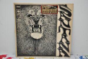 Santana, debut Vinyl LP, 1969 CBS 63815, French Import 1st pressing LP VG+