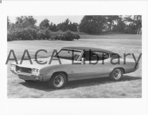 Ref. # 28781 1970 Buick GS 455 Hardtop Factory Photo