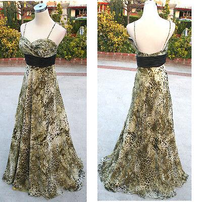 NWT HAILEY LOGAN $200 Multi Formal Evening Prom Gown 5