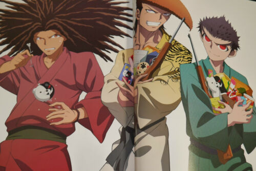 Danganronpa The Animation Art Book Koushiki Illustration /& Gengashuu Japan Book