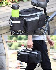 Mountain Bike Saddle Basket Bicycle Rear Rack Bag Becicle Bicycle Pack Trunk