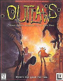Computer Games - Outlaws PC Game Lucasarts Complete In Case Nice Computer Game