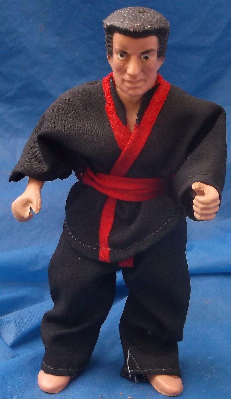 Ninja Master Master Martial Arts Arts Arts azione cifra With Gi Lot Vintage 1980's VTG 63c0a0