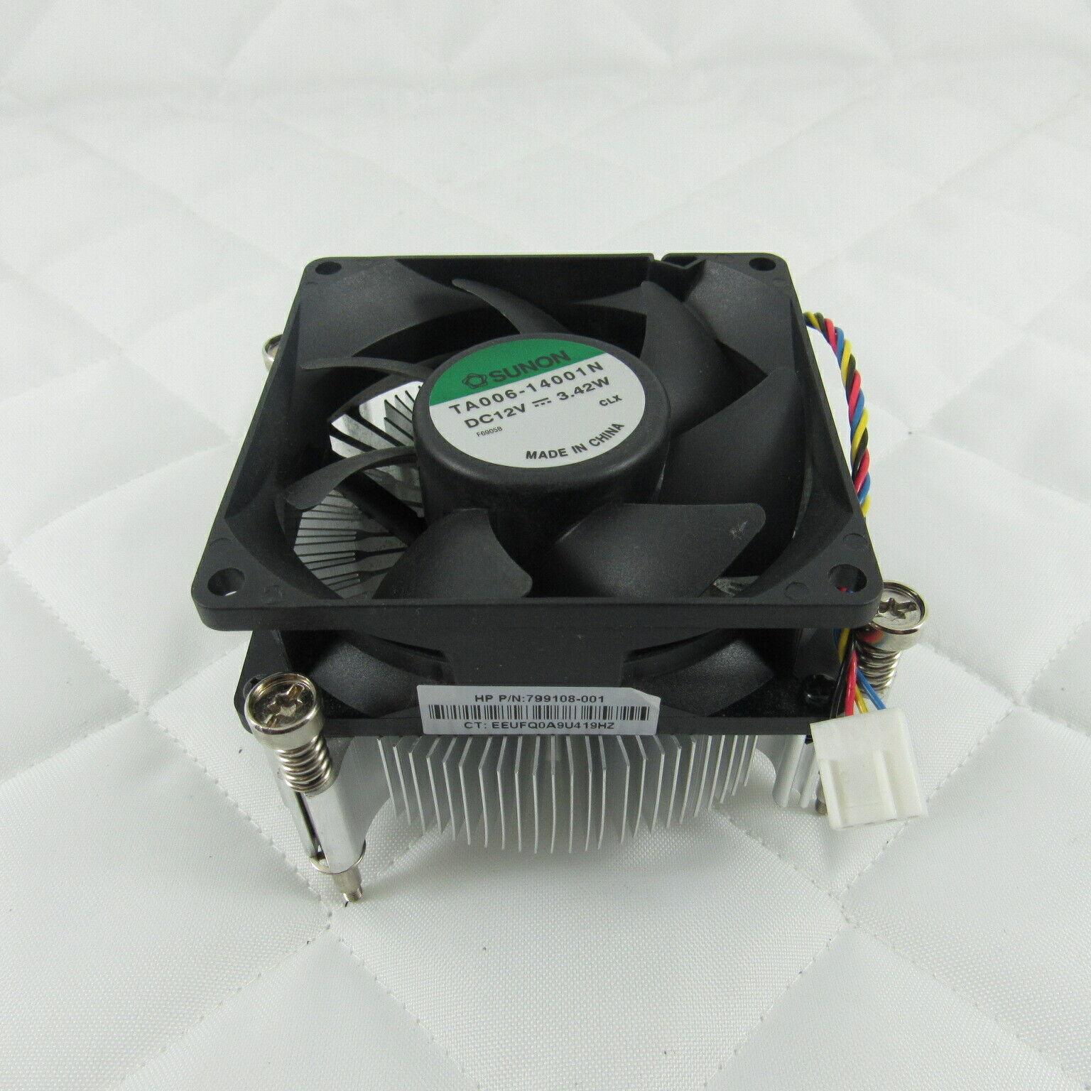 Image 1 - HP-PRODESK-400-G3-MINI-TOWER-HEATSINK-AND-FAN-799108-001