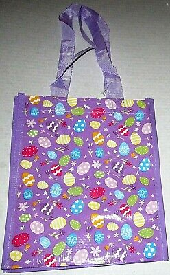 """Reusable Extra Large  Tote Bag 21/"""" x 18/"""" x 10/""""  MEOW With Zipper Closure"""