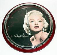 Marilyn Monroe Hollywood Star Legend Sweeping Hand Quartz Wall Clock 12