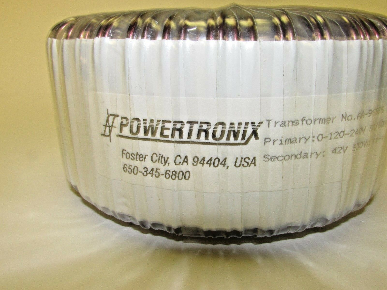 Powertronix Model Aa 96585 Heavy Duty 42v 530va Toroidal Power Powertronixinductor1jpg Norton Secured Powered By Verisign