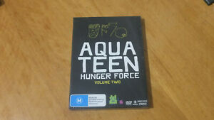 Aqua-Teen-Hunger-Force-Season-2-Region-4-DVD-Brand-New
