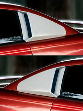 Fits 94 98 Mustang V6 Gt Xenon Urethane 14 Quarter Window Scoops Covers 12740 Fits Mustang