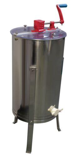 2 Frame Pro Honey Extractor Stainless Steel Beekeeping Equipment Extraction