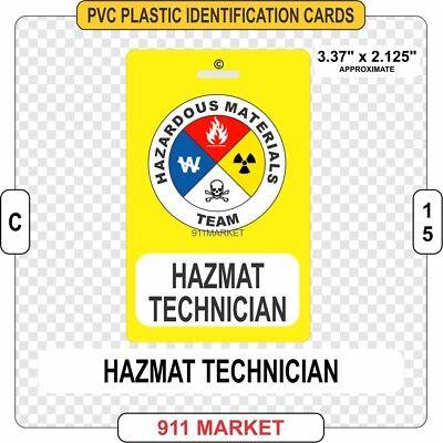 Hazardous Materials Haz Mat Awareness Uniform Patch Firefighter Rescue