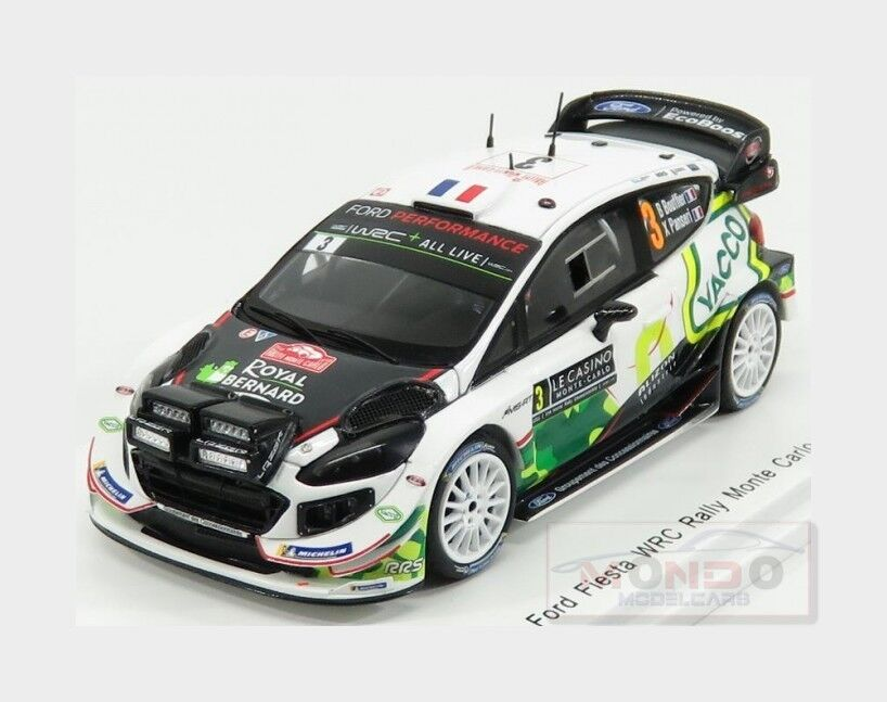 primera vez respuesta Ford Fiesta Wrc M-Sport M-Sport M-Sport Ford Wrt  3 Rally MonteCochelo 2018 SPARK 1 43 S5953  venta directa de fábrica