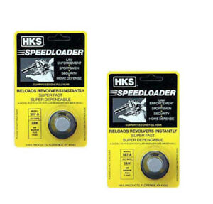 2-Pack-HKS-7-shot-Speedloader-357-Magnum-Fits-S-amp-W-686-Mag-Plus-Taurus-617-587-A