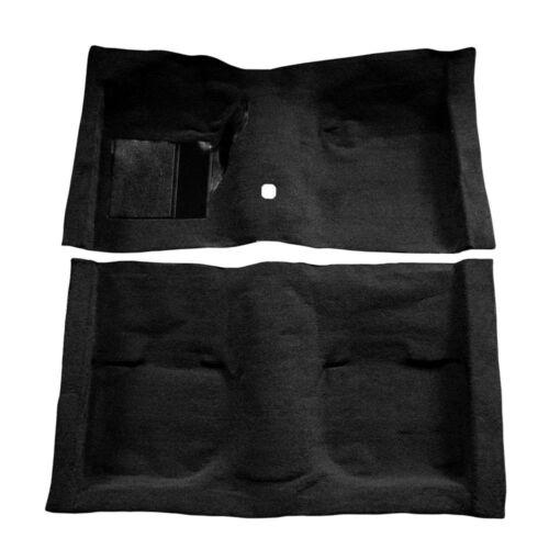 1969 1970 MUSTANG CONVERTIBLE BLACK NYLON LOOP PRE-MOLDED CARPET KIT #69-14290