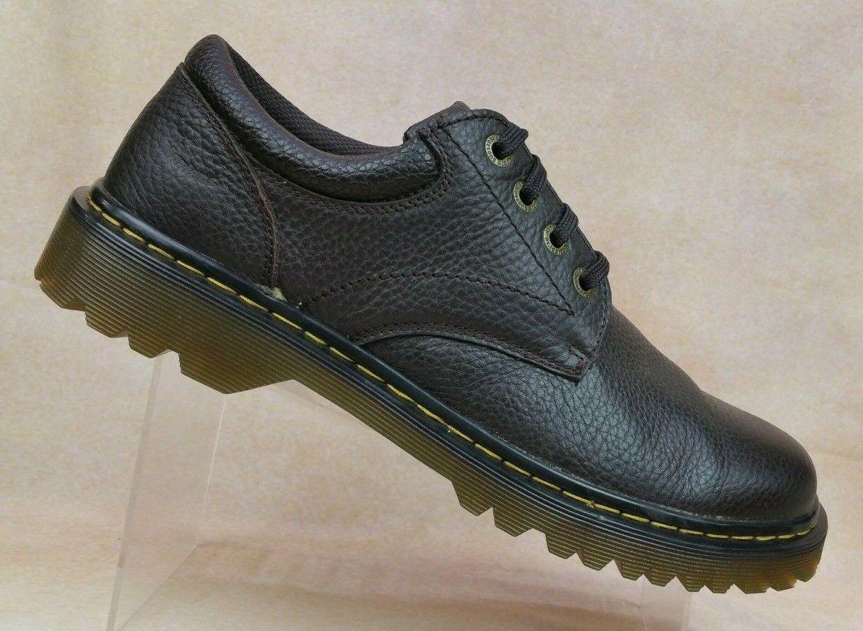 Oscuro Marrón Cuero Ashfeld Martens Dr Zapatos Masculino