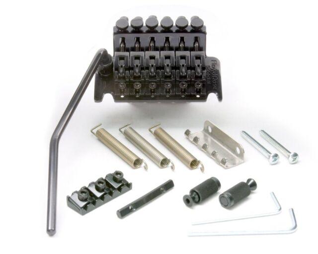 *NEW Floyd Rose Special Locking TREMOLO Bridge & R3 Nut Electric Black OEM SALE!