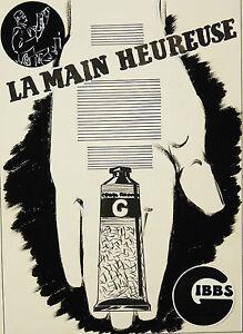 Dessins: Deux Projets De Publicité Gibbs.art Pub Lucien Allègre Pierre Thibaud
